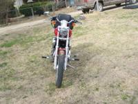 I have a diablo red 2010 HARLEY 1200 CUSTOM for sale.