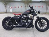 I currently have a 2010 Harley Davidson 883 Iron /