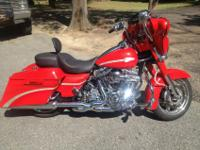 2010 Harley Davidson CVO TouringThe official color is