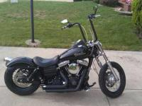 2010 Harley Davidson Dyna Street Bob. Highly Modified
