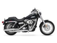 Lots of chrome and plenty of power. Motorcycles Dyna