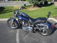 2010 Dyna Super Glide Custom in beautiful Black Ice
