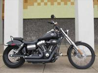 2010 Harley-Davidson Dyna Super Glide FXDWG with only