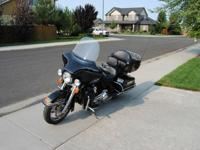 This 2010 Harley Davidson Electra-Glide Ultra Classic