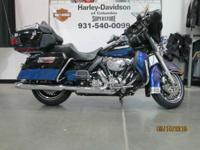 2010 Harley-Davidson Electra Glide Ultra Limited Top Of