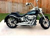 2010 Harley-Davidson Fat Boy Flstfi , Beautiful 2010