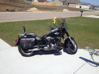 2010 Harley-Davidson Fatboy Lo, very good condition,