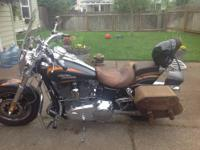 2010 Harley Davidson in Excellent Condition Black and