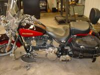 2010 Harley Davidson FLSTC Heritage Softail Classic- -