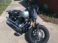 2010 Harley Davidson FLSTSB Crossbones Springer. Very