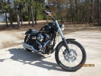 2010 Harley Davidson FXDWG Dyna Wide Glide. 96ci- Fuel