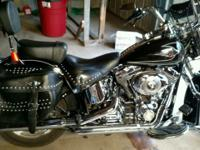 2010 Harley Davidson Heritage Softail, 10183 miles,