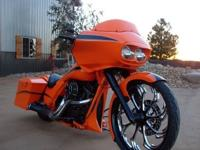 The prototype of the new loop-frame Harley-Davidson was
