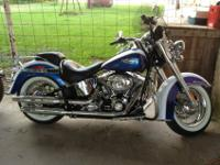 Enjoy this beautiful Harley Davidson; 6 speed with only