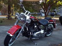 2010 Harley Davidson FLSTN Softail . Very clean 2010