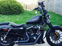2010 Harley-Davidson Sportster 883 IRON, Up for sale is