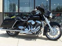 2011 Street Glide  Vivid Black  Over $40,000 invested