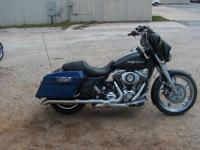 2010 HARLEY DAVIDSON FLHX STREET MOVE, LIGHT