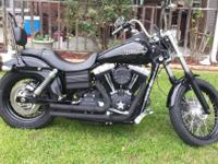 2010 Harley Davidson Streetbob. Excellent condition.