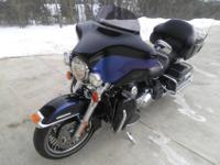 2010 Harley Davidson Ultra LimitedTwo tone Black Ice