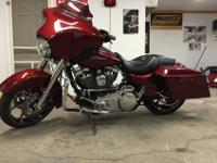 2010 Harley Davidson Street Glide, This bike has been