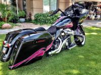 This RoadGlide Custom was specially customized for a