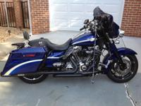 Up for sale is my pampered 2010 CVO Street Glide,