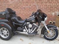 This Bike Is A 2010 Harley TriGlideVery Low Miles Only