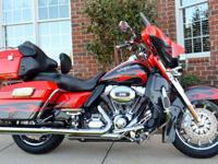 2010 Harley Davidson CVO Ultra Screamin Eagle!!One of