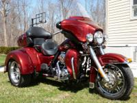 2010 Harley Davidson Ultra Classic Trike. We bought