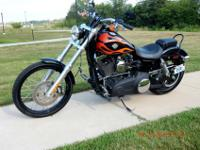 2010 Harley Davidson Wide Glide in perfect condition