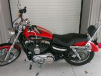 Selling a 2010 Harley-Davidson XL1200C for $6999. Bike
