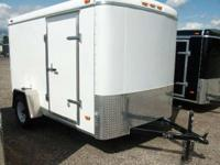 Haul-It: 6x10 Enclosed Cargo Trailer for sale, 2010