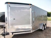 Haul-It:7x21 V-Nose Enclosed Trailer for sale,Call