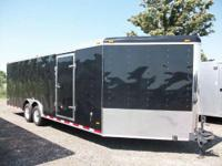 Haul-It: 8.5x29 V-Nose Enclosed trailer for sale,