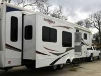 2010 Heartland Bighorn 3670RL 5th Wheel. NEW LOWER