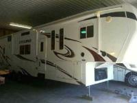 2010 Heartland Cyclone 3950, 42, 3 slides, interior