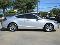 Accord EX 2.4, Honda Certified, 2D Coupe, Silver, and