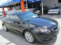 This 2010 Honda Accord 2dr EX-L V6 Coupe features a
