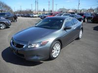 SPORTY!!! Here is a 2010 Honda Accord EX-L with 48,948