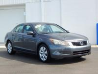 New Price! This 2010 Honda Accord EX in Gray features: