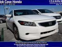 Options:  2010 Honda Accord Cpe Ex-L / V4 2.4L