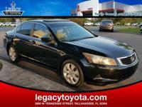 LEATHER, POWER SUNROOF, Accord EX-L, 4D Sedan, 2.4L I4