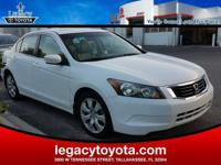 Clean CARFAX. New Price! LEATHER, POWER SUNROOF, Accord