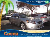 This 2010 Honda Accord EX-L in Alabaster Silver