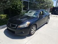 This 2010 Honda Accord Sdn EX-L is offered to you for