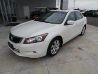 3.5L V6 SOHC i-VTEC 24V and Ivory w/Leather-Trimmed