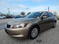 CARFAX One-Owner. Clean CARFAX. Beige 2010 Honda Accord