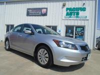1 Owner 2010 Honda Accord lX with 22k miles!!! This car