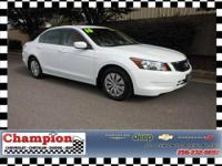 A smooth and classy Accord just for YOU!!! WE MAKE IT